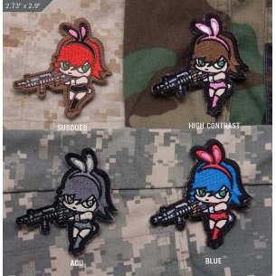 Mil-Spec Monkey Bunny Girl velcro patch