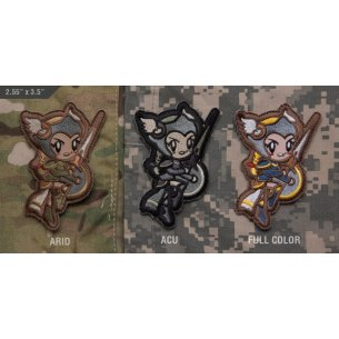 Cute Valkyrie velcro patch