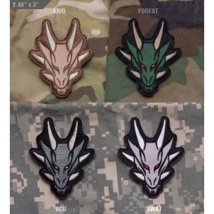 Mil-Spec Monkey Dragon Head velcro patch