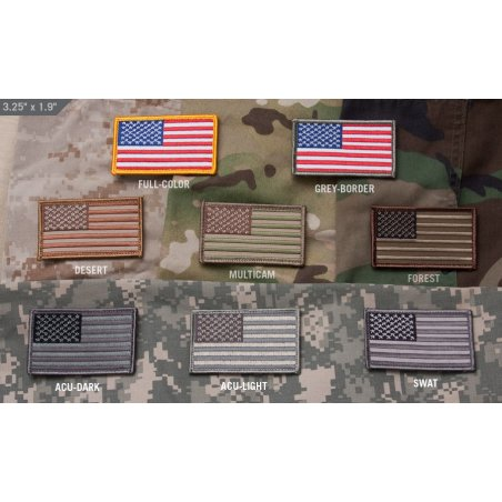 U.S. Flag velcro patch