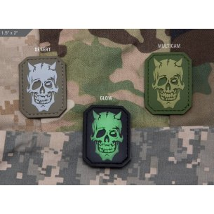 MM Devil Skull PVC velcro patch