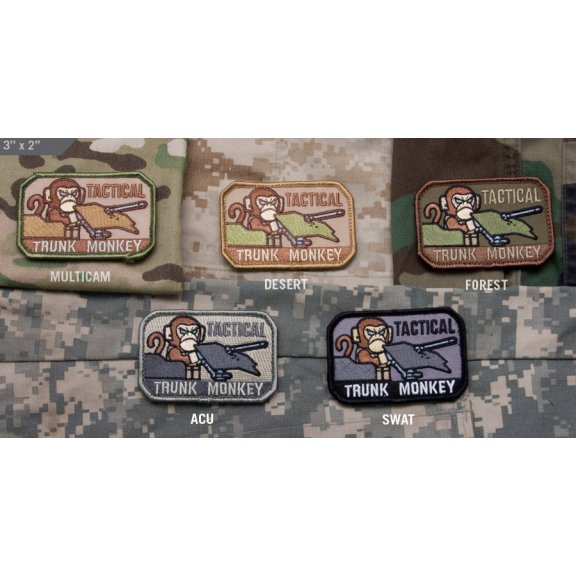 Tactical Trunk Monkey velcro patch