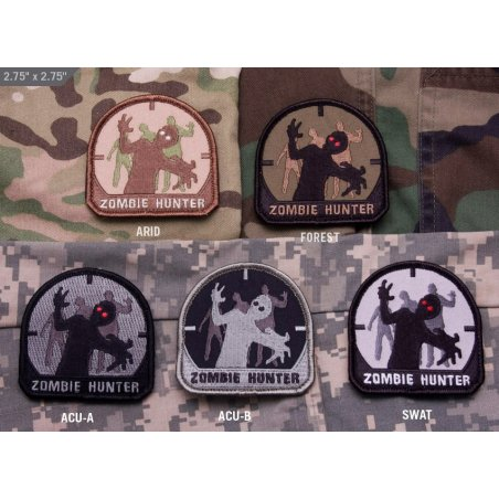 Zombie Hunter velcro patch