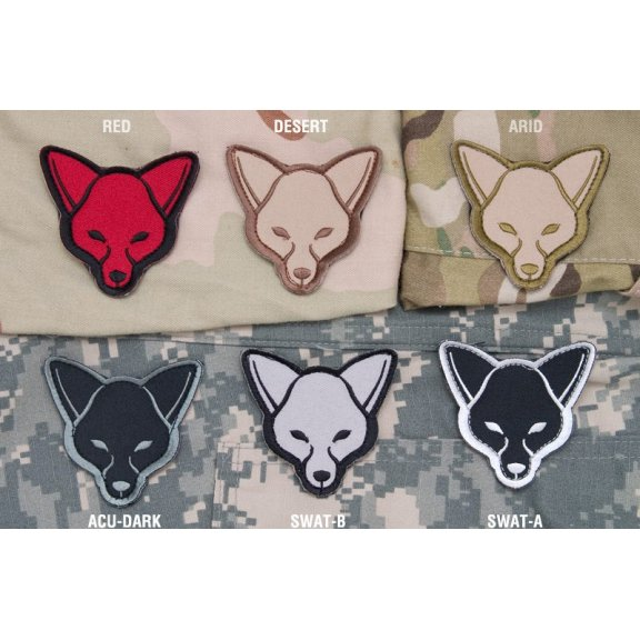 Fox velcro patch