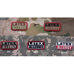Mil-Spec Monkey Latex Allergy velcro patch