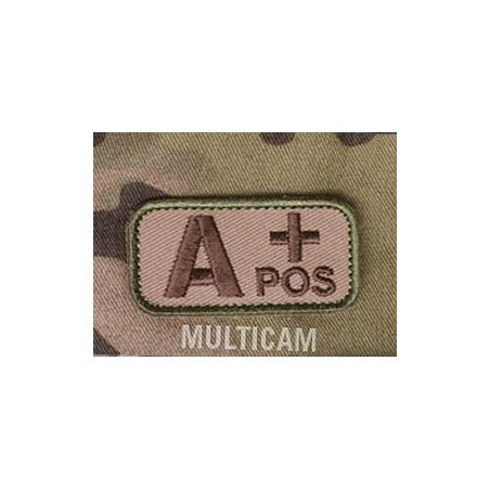 Blood Type velcro patch - Multicam