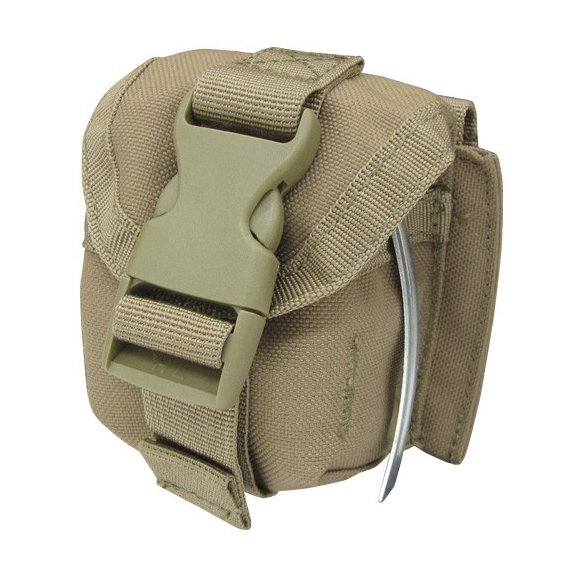 Single Frag Grenade Pouch (MA15-003) - Coyote / Tan