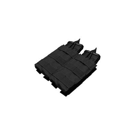 Double M4/M16 Open Top Mag Pouch (MA19-002) - Black