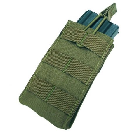 Open Top M4/M16 Mag Pouch (MA18-001) - Olive Green