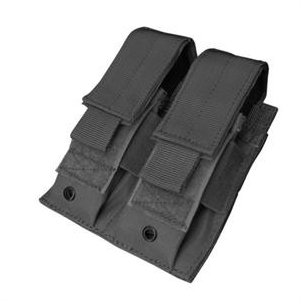 Double Pistol Mag Pouch (MA23-002) - Black