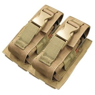 Condor® Double Flashbang Pouch (MA29-003) - Coyote / Tan
