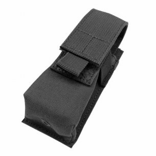 Single Flashlight / Tool Pouch (VA1-002) - Black