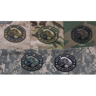 Mil-Spec Monkey Honey Badger PVC velcro patch