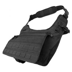 Condor® Messenger Bag (146-002) - Black