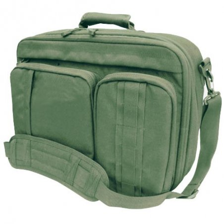 3-WAY Laptop Case (145-001) - Olive Green