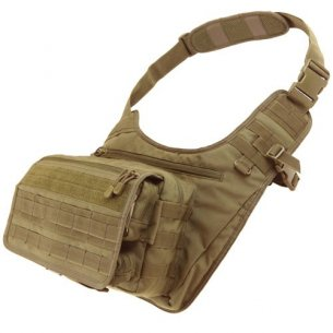 Condor® Messenger Bag (146-003) - Coyote / Tan