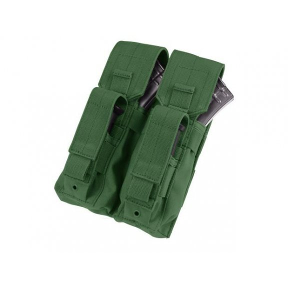 Double AK Kangaroo Mag Pouch (MA71-001) - Olive Green