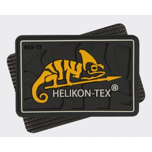 HELIKON-TEX Logo Velcro patch - PVC - Black
