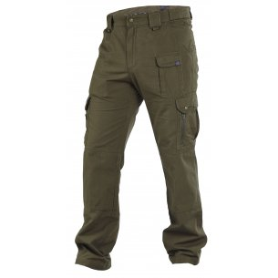 Elgon Trousers / Pants - Ripstop - Olive Green