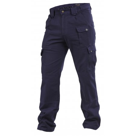 Elgon Trousers / Pants - Ripstop - Navy Blue