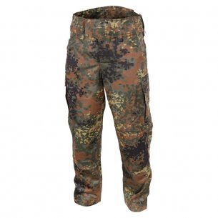 Leo Koehler Explorer Trousers / Pants - Twill - Flecktarn