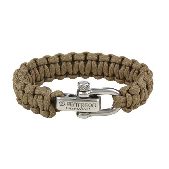 Tactical Survival Bracelet - Coyote / Tan