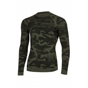 Spaio Shirt D/R Survival Line W01 - Military / Grey