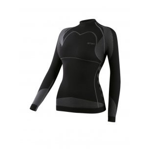 Spaio Shirt D/R Thermo Line W03 WOMEN - Black/Grey