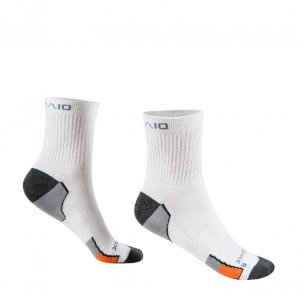 Socks MULTISPORT EVERYDAY - White / Orange