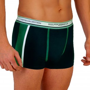 Spaio MEN's Boxers Shorts BMS 01 - Navy / Green