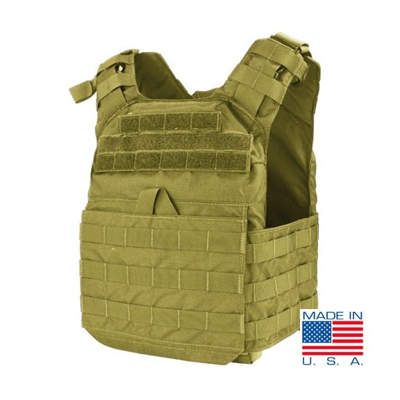 Cyclone Lightweight Plate Carrier (US1020-003) - Coyote / Tan