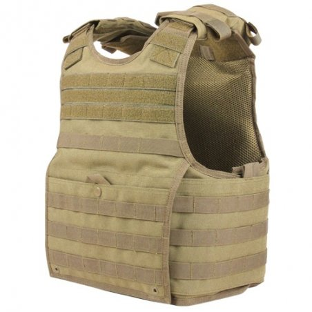 EXO Plate Carrier (XPC-003) - Coyote / Tan