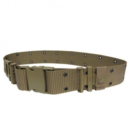 G.I. Style Nylon Pistol Belt (PB-003) - Coyote / Tan