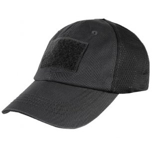Condor® Mesh Tactical Cap (TCM-002) - Black