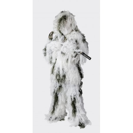 GHILLIE Suit camouflage - Snow Camo