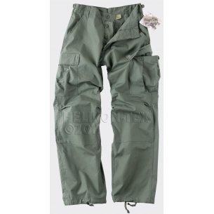 BDU (Battle Dress Uniform) Trousers / Pants - Ripstop - Olive Drab