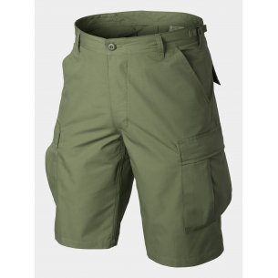 BDU (Battle Dress Uniform) Shorts - Ripstop - Olive Green