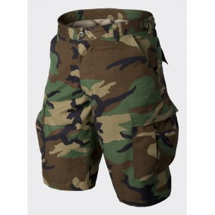 BDU (Battle Dress Uniform) Shorts - Ripstop - US Woodland