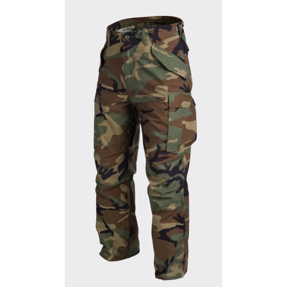 US ARMY MILITARY M65 Trousers / Pants - Nyco Sateen - US Woodland