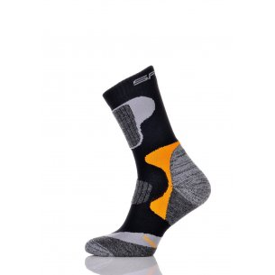 Spaio Trekking socks SKINLIFE - Black/Orange