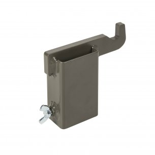 SRT TARGET MOUNTING HOOK® - HARDOX 600 STEEL - BROWN GREY