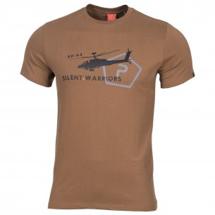 AGERON T-shirts - Helicopter - Coyote