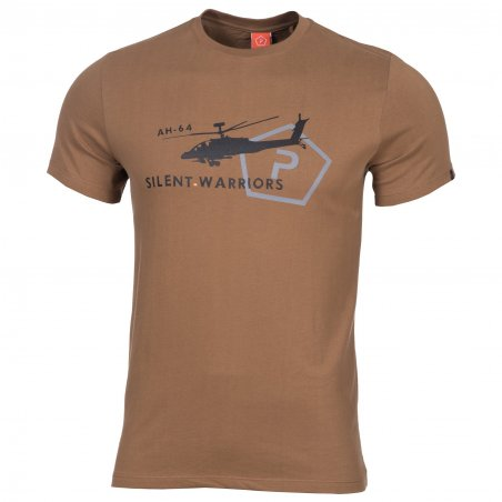 Pentagon T-shirt AGERON - Helicopter - Coyote
