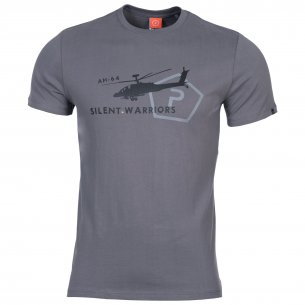 AGERON T-shirts - Helicopter - Wolf Grey