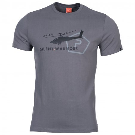 Pentagon T-shirt AGERON - Helicopter - Wolf Grey