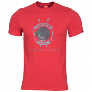 T-shirt AGERON - Lakedaimon Warrior - Lava Red