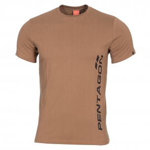 AGERON T-shirts - VERTICAL - Coyote