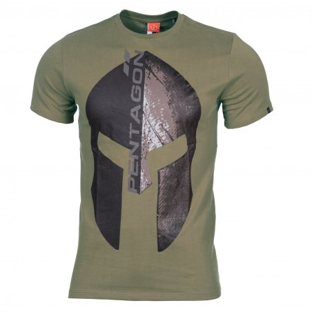 Pentagon  T-shirts AGERON - Eternity - Olive Green
