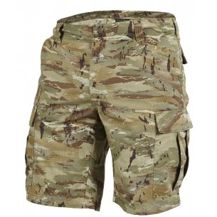 BDU (Battle Dress Uniform) Shorts - Ripstop - Black