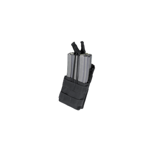 Single Stacker M4 Mag Pouch (MA42-002) - Black